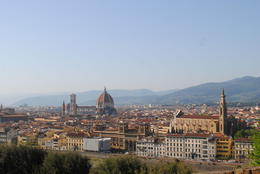 The view from Michaelangelo Park above Florence. , NZM - May 2012