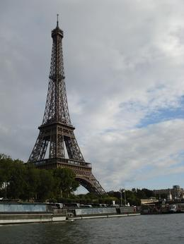 Eiffel Tower from the Seine river cruise. It was an awesome view., Michael B - August 2009