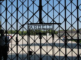 Photo of Munich Dachau Concentration Camp Memorial Small Group Tour from Munich Entrance