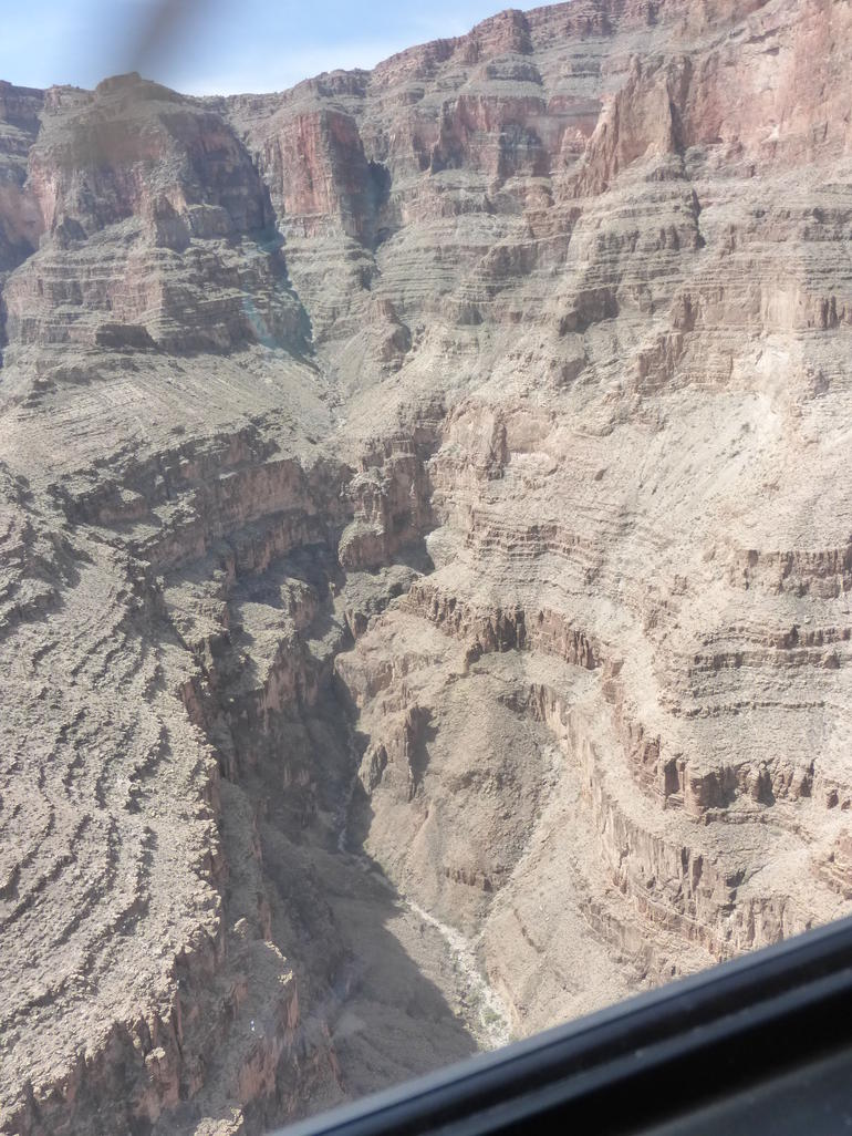 Grand Canyon from the helicopter - Las Vegas