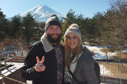 Photo of Tokyo Mt Fuji, Lake Ashi and Bullet Train Day Trip from Tokyo Mount Fuji from the visitors centre
