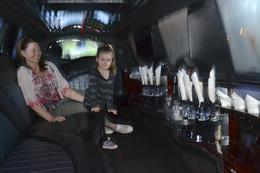 the princess loved the limo , Wendy L H - December 2013