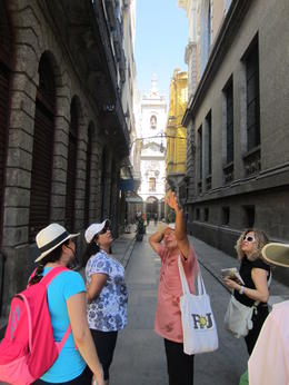 Photo of Rio de Janeiro Rio de Janeiro Half-Day Walking Tour pointing out the sights