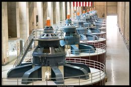 Hoover Dam power generators , B P - June 2016