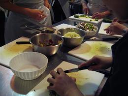 Photo of Florence Tuscan Cooking Class and Dinner in Florence Tuscan cooking class: Preparations