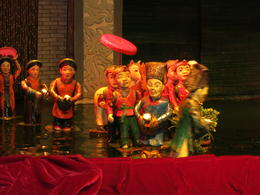 Photo of Hanoi Water Puppet Show with Buffet Dinner from Hanoi Puppets up close
