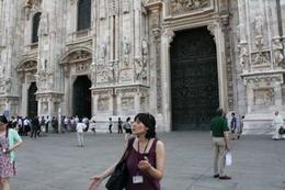 Rafaelle had so much knowledge of Milan, our walk became an intense history lesson. She was great. , Sheena D - July 2014