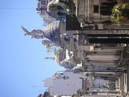 Walking around the Recoleta Cemetery. , Allison L - January 2012