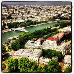 View of Paris, Ryan & Asha - April 2013