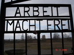 Photo of Berlin Sachsenhausen Concentration Camp Memorial Walking Tour The Gate into Sachsenhausen