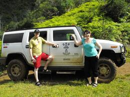 Photo of Oahu Lost Tour and Other Hawaii Movie Locations by Hummer The Hummer and us!