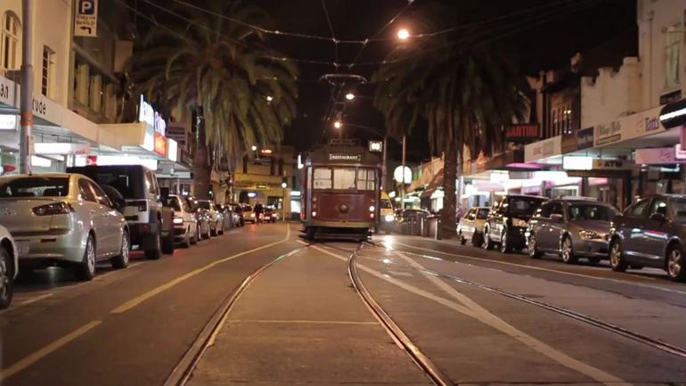 The Tram - Melbourne