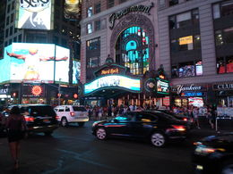 Time Square bei Nacht , fam.schauf - August 2015
