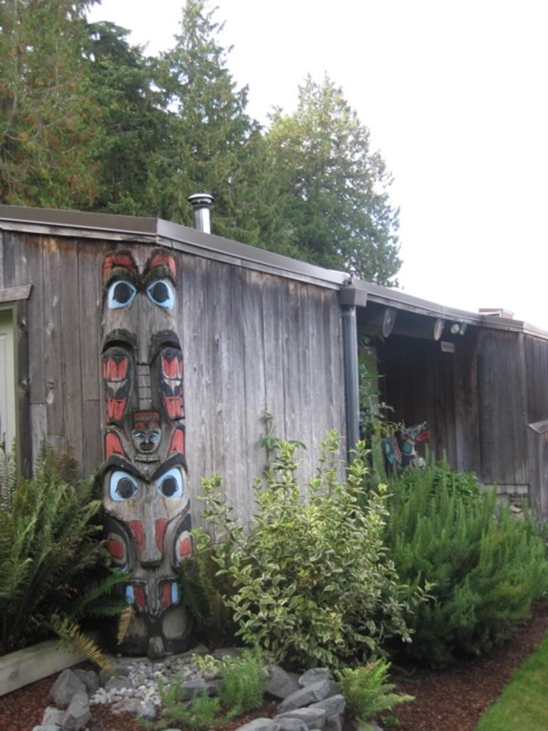 Totem Pole at Tillicum Village - Seattle