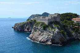 The Red Keep, Game of Thrones Tour, Dubrovnik - June 2013