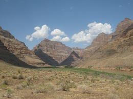 Veiw from base of canyon , Andrew M - September 2011