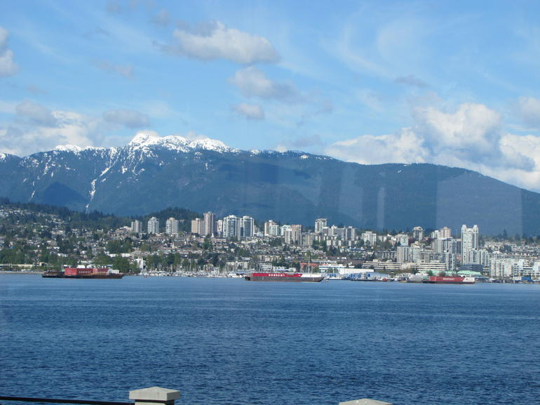 A view from Stanley Park - Vancouver
