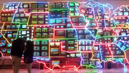 The whole Neon display - December 2014