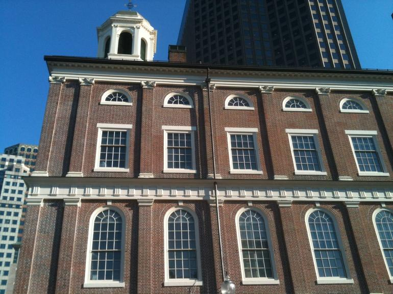 Faneuil Hall, Cradle of Libery - Boston