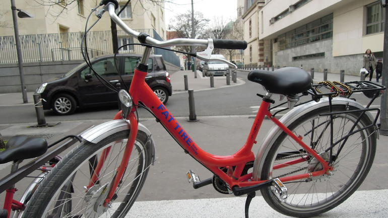 Fat Tire Bike - Paris