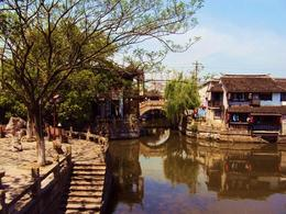Photo of Shanghai Private Tour: Fengjing Water Town and Peasant Painting Experience from Shanghai Fengjin Watertown