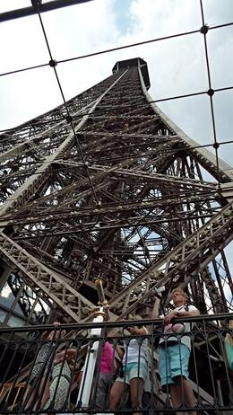 Photo of Paris Skip the Line: Eiffel Tower Tickets and Small-Group Tour Looking up