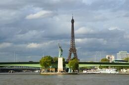 Photo of Paris Eiffel Tower, Paris Moulin Rouge Show and Seine River Cruise Mini Statue of Liberty