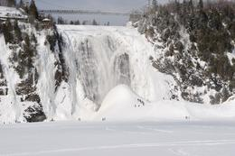 Taken at Montmorency Falls, Steve W - February 2009