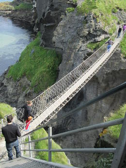 The rope bridge , Michelle K - September 2012