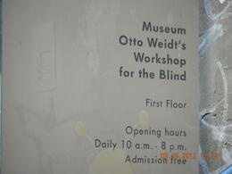 Photo of Berlin Jewish Life in Berlin Half Day Walking Tour Otto Weid's workshop for the blind