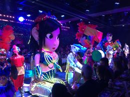 visited the robot restaurant , Kathrin T - January 2016