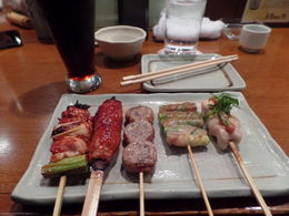 Photo of   Skewers From Our First Stop