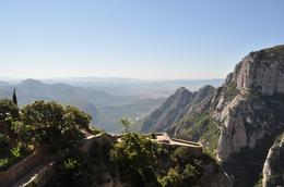 Photo of Barcelona Montserrat and Cava Trail Small Group Day Trip from Barcelona The amazing view!