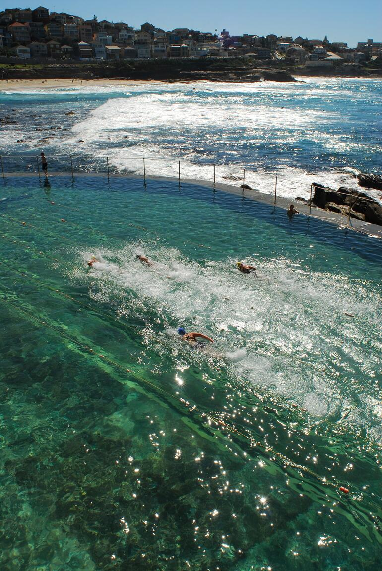 The pool at Bronte Beach - Sydney