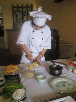 Photo of Hanoi Vietnamese Cooking Class at Hanoi's Cooking Centre The real chef at work