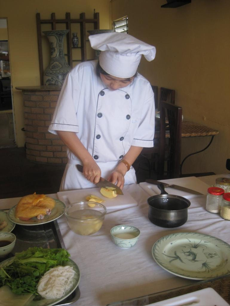 The real chef at work - Hanoi
