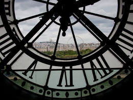Photo of Paris Paris Shuttle Departure Transfer: Charles de Gaulle Airport (CDG) Through the clockface at Musee d'Orsay