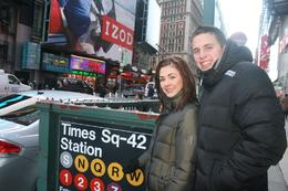 Photo of New York City Private New York Walking Tour with a Personal Photographer Times Sq