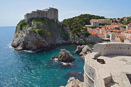 The Red Keep and Blackwater Bay, Kings Landing, Game of Thrones Tour, Dubrovnik - June 2013