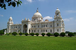 Exterior view of the Victoria Memorial - July 2012