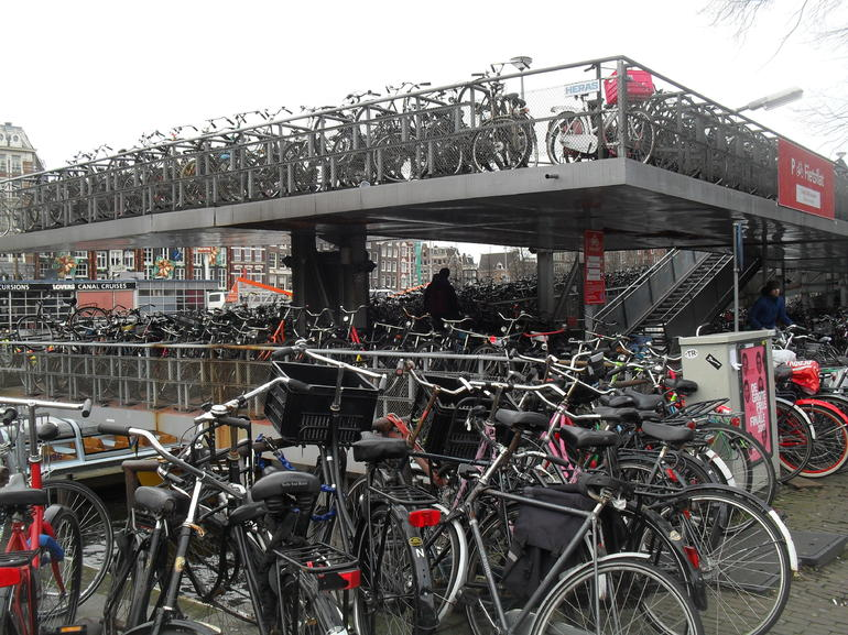 Want to park your bike ? - Amsterdam