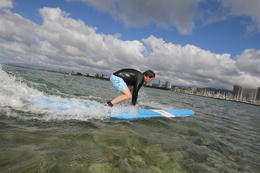 Photo of Oahu Oahu Surf Lessons: Class and Equipment at Ala Moana Beach with Round-Trip Transport Whoops!