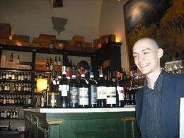 Our sommelier was called Zeno, he gave us a great introduction to all the wines we tried., Frances - June 2010