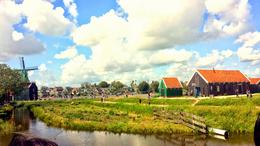 Windmills in Zaanse Schaans , Rahul S - September 2014