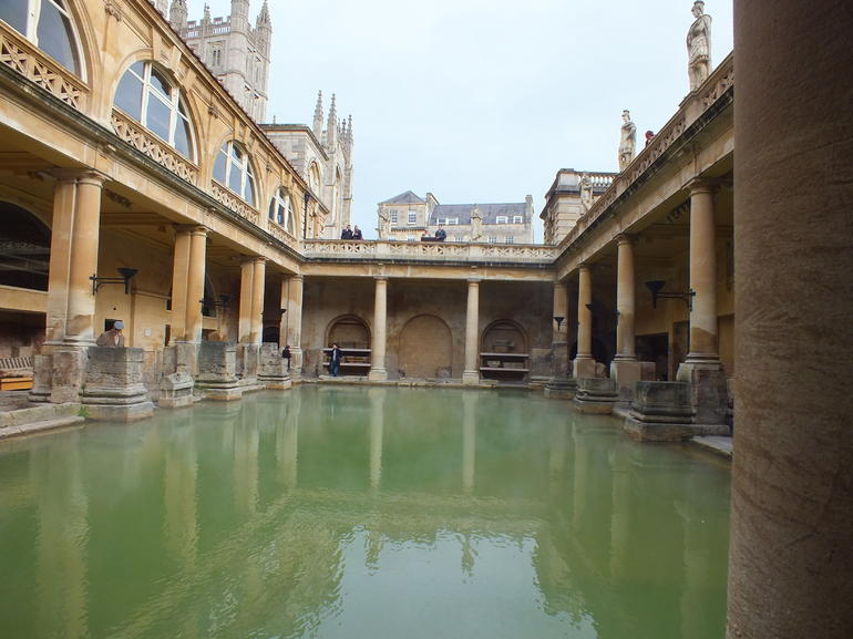Bath - Roman Baths - London
