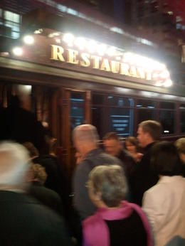 Photo of Melbourne Colonial Tramcar Restaurant Tour of Melbourne before boarding the tram