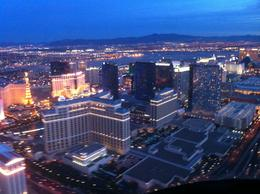 Photo of Las Vegas Grand Canyon West Rim Deluxe Sunset Helicopter Tour Bellagio at Sunset
