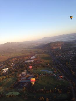 Photo of Napa & Sonoma Napa Valley Hot-Air Balloon Ride with Sparkling Wine Brunch Bird's eye view