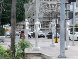 It is considered good luck to walk under these ladies! A great pic from the tour bus. Shows how well you see things! , Jennifer W - January 2011