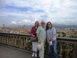 The 3 of us from California took the 1/2 day city tour (with lunch) and highly recommend it if you are short on time and want to get a more complete impression of Florence. , sharon m - August 2014